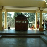 Daramshala-altare